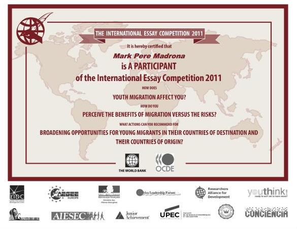 world bank international essay competition