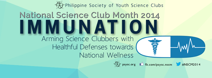 """National Science Club Month 2014 theme – """"Immunation"""" 