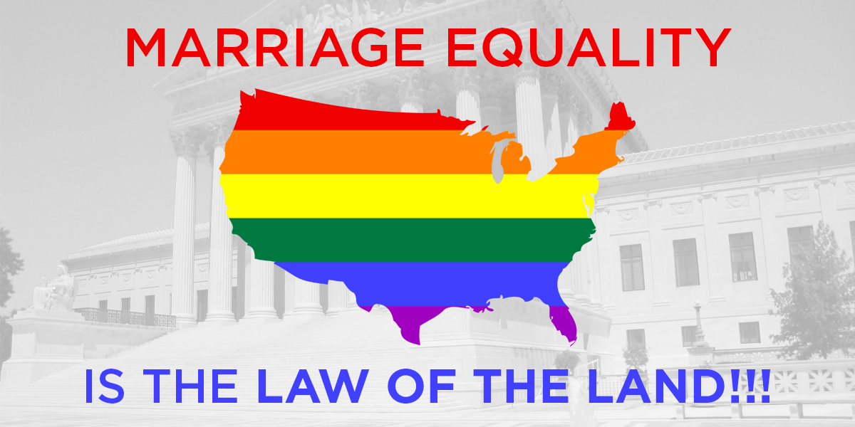 pushing for the legalization of same sex marriage In a landmark opinion, a divided supreme court ruled on june 26th that states cannot ban same-sex marriage the us is now the 21st country to legalize same-sex marriage nationwide married same.
