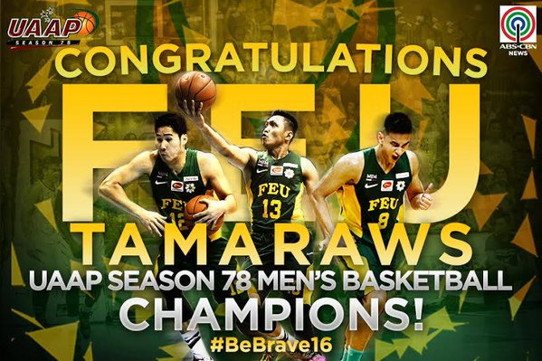 FEU outlasts UST to win 2015 UAAP men's basketball ...