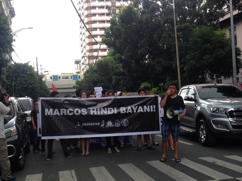 Anti-Marcos rally