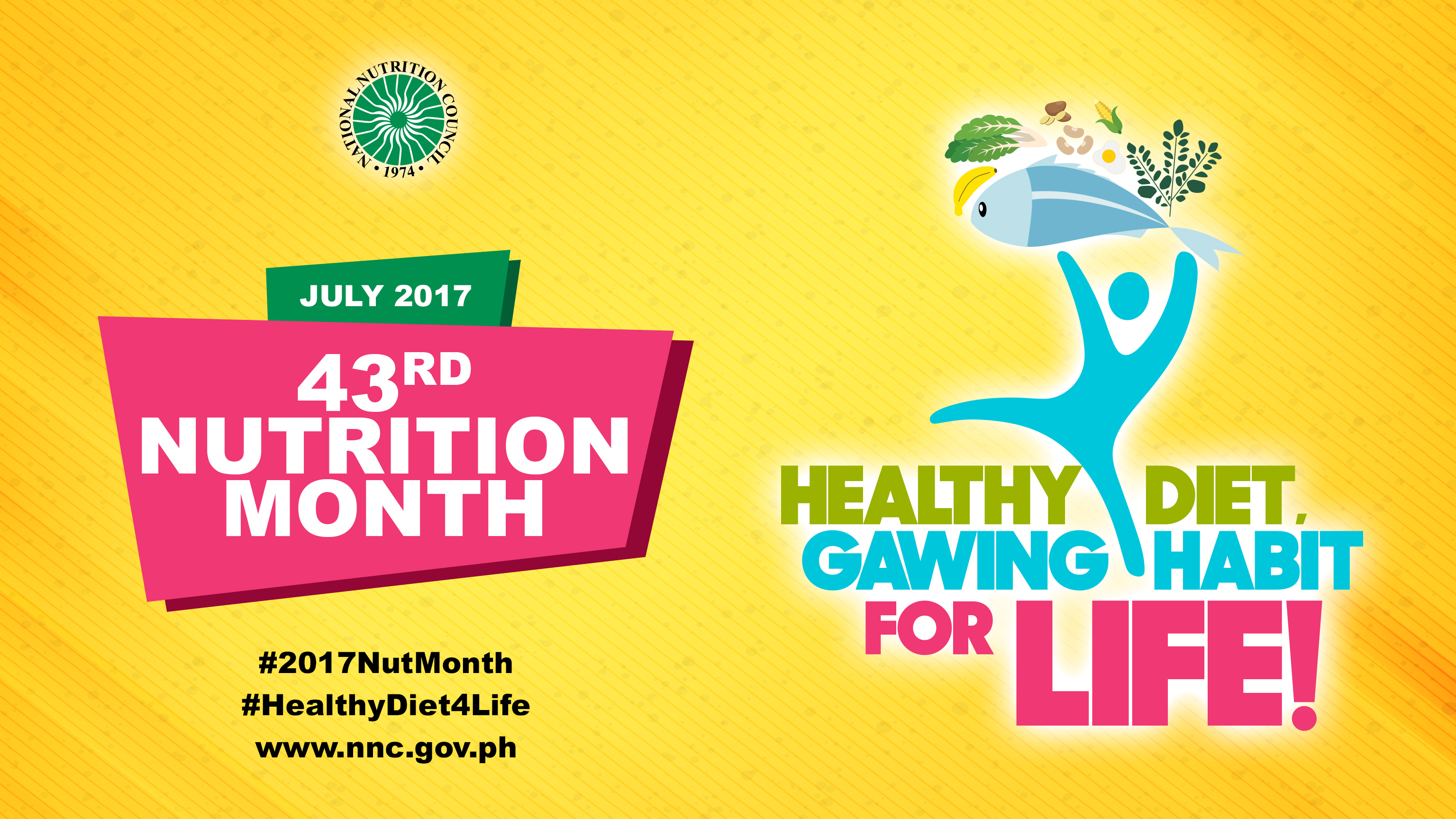 Poster design nutrition month - Nutrition Month 2017