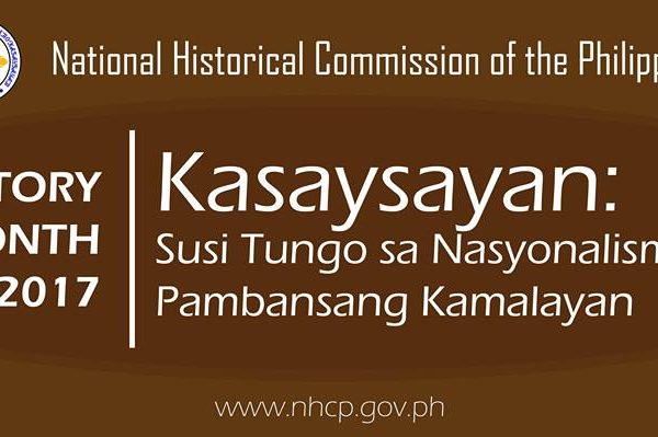 national history month 2017 theme philippines