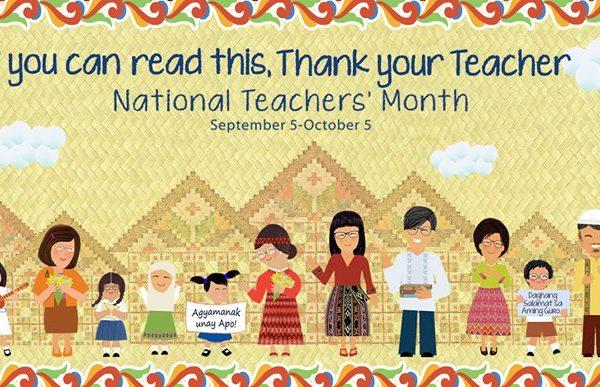 National Teachers Month 2017